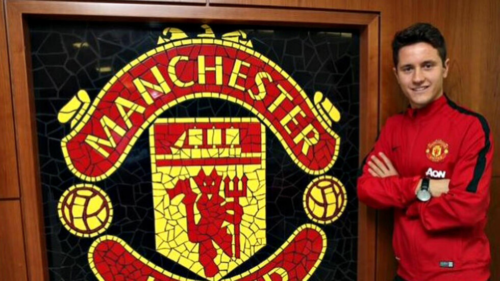 FIRE ÅR: Ander Herrera er klar for Manchester United og har signert en fireårskontrakt. Foto: Manchester United / Twitter