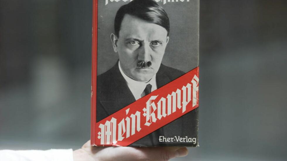 VIL FORBY NYE UTGIVELSER: Tyskland ønsker ikke «Mein kampf» velkommen. Foto: NTB Scanpix