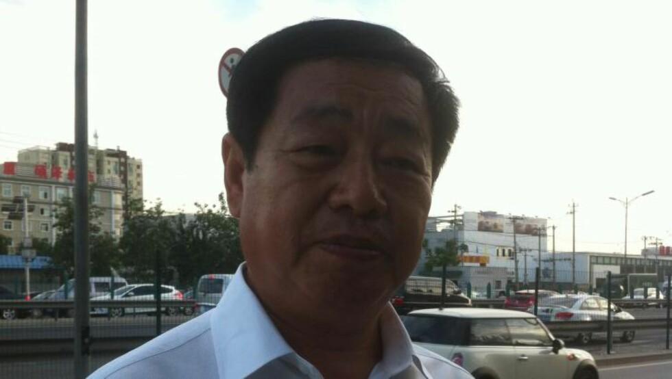 RETTFERDIGHET: Familien Thronsens kinesiske bistandsadvokat Zhao Xue sier at både han og familien er fornøyde emd at det ble vist rettferdighet i Kina. Foto: Zhao Rongkun
