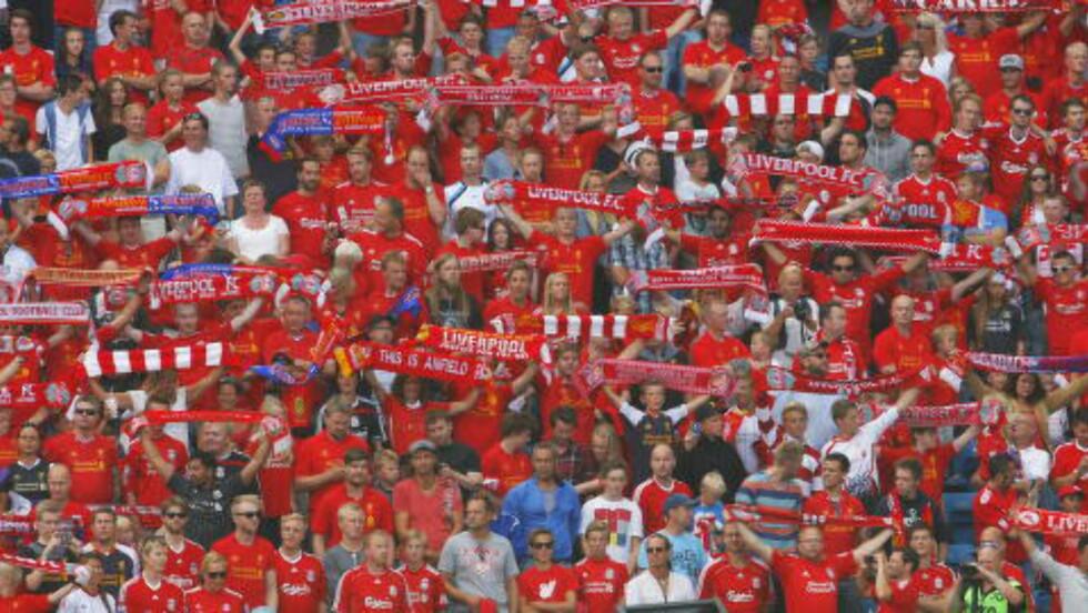 PÅ OSLO-BESØK: Liverpool har gjestet Oslo under Norway Cup-uka flere ganger. I år er det fotballskolen som inviterer til kamp på Ekebergsletta. Foto: Audun Braastad / NTB scanpix