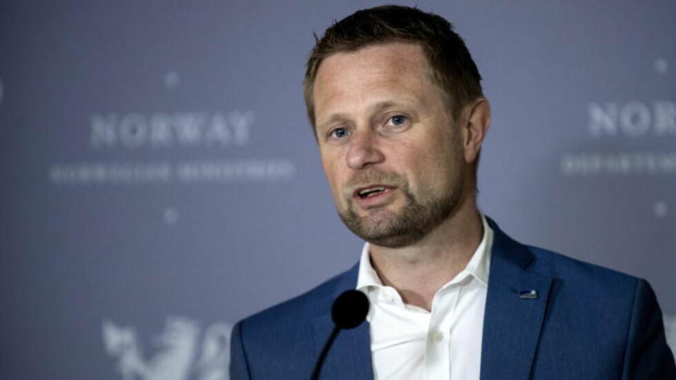 DIREKTE HELSESKADELIG: Det mener Bent Høie (H) om rådene som Guttogjente.no gir. Foto: Øistein Norum Monsen / Dagbladet.