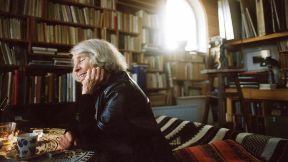 MUMMIMAMMA: Tove Jansson ville fylt hundre år i år, og det feirer finnene. Mummitrollene er kjent over hele kloden. I tillegg har hun 12 romaner og novellesamlinger bak seg. Foto: Dagbladet/Scanpix