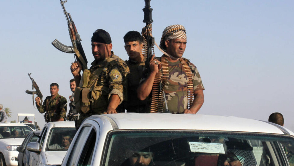 Irakiske styrker har innledet et massivt angrep med flere tusen soldater mot byen Tikrit. Opprørere fra Den islamske staten Irak og Levanten (ISIL) tok kontrollen over byen tidligere denne måneden. Foto: REUTERS/Stringer/NTB scanpix