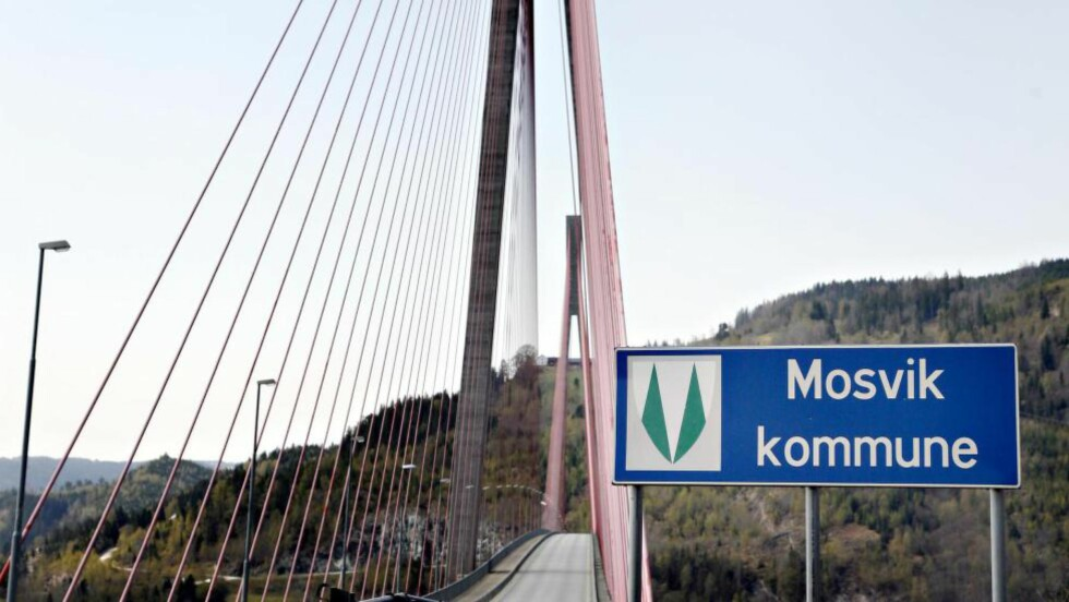 SAMMENSLÅING:  Inderøy og Mosvik har allerede slått seg sammen. Nå har fire senterpartiordførere forslått en enda større kommune, med Steinkjer som sentrum. Foto: Tom E. Østhus