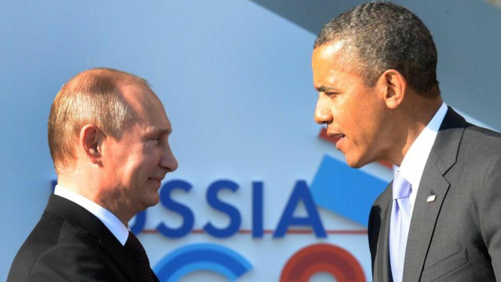 ALVORSORD: Russland advarer USA mot å gi trappe opp støtten til syriske opprørere. Arkivfoto: AFP / NTB scanpix
