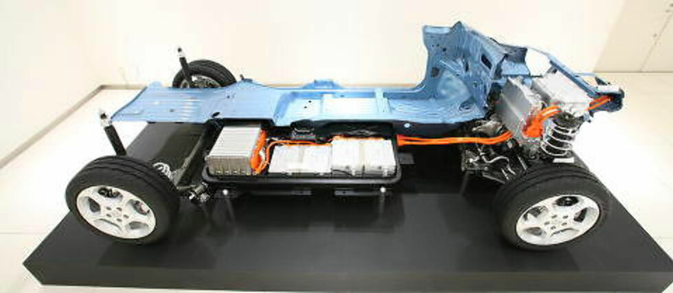 PRISET: Batteripakken i Nissan Leaf koster netto under 35 000 kroner, i det minste i USA. Foto: Nissan