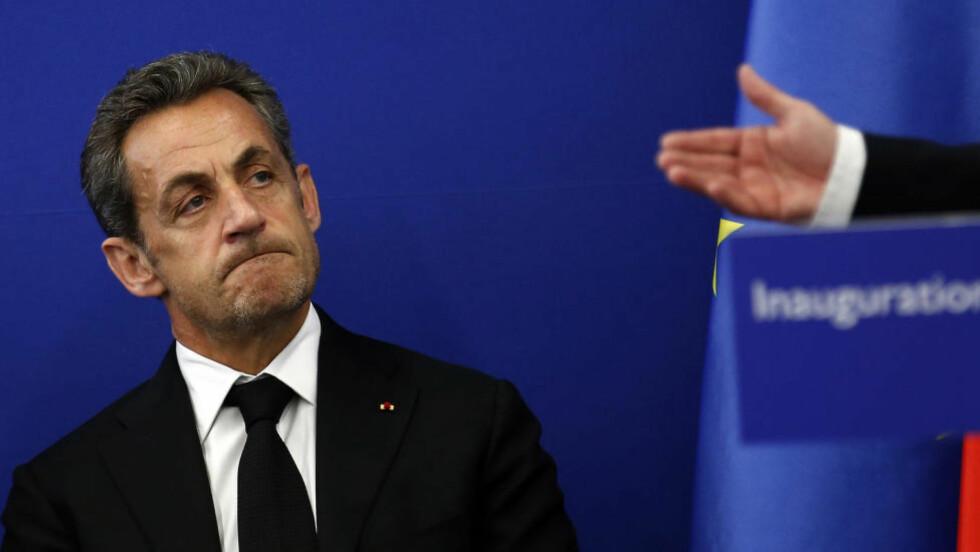 SIKTET: Frankrikes tidligere president, Nicolas Sarkozy er siktet for korrupsjon. Foto: REUTERS/Eric Gaillard/Files