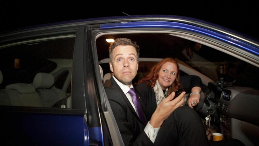PÅ GRENSA: KrF med partileder Knut Arild Hareide og nestleder Dagrun Eriksen sliter på fersk meningsmåling. Foto: Elisabeth Sperre Alnes/Dagbladet