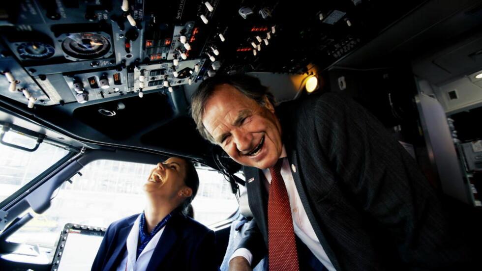 FLERE RUTER: Norwegian-sjef Bjørn Kjos varsler at selskapet vil starte flyvninger til India og Hongkong. Foto: Kristin Svorte/Dagbladet