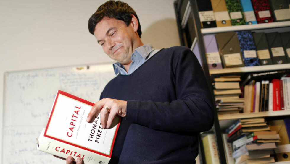 ØKONOMISK VEKKELSE:  Den franske økonomen Thomas Piketty har skrevet boka om urettferdig fordeling som har gjenskapt troen på politikken på venstresiden. Foto: Reuters / NTB Scanpix