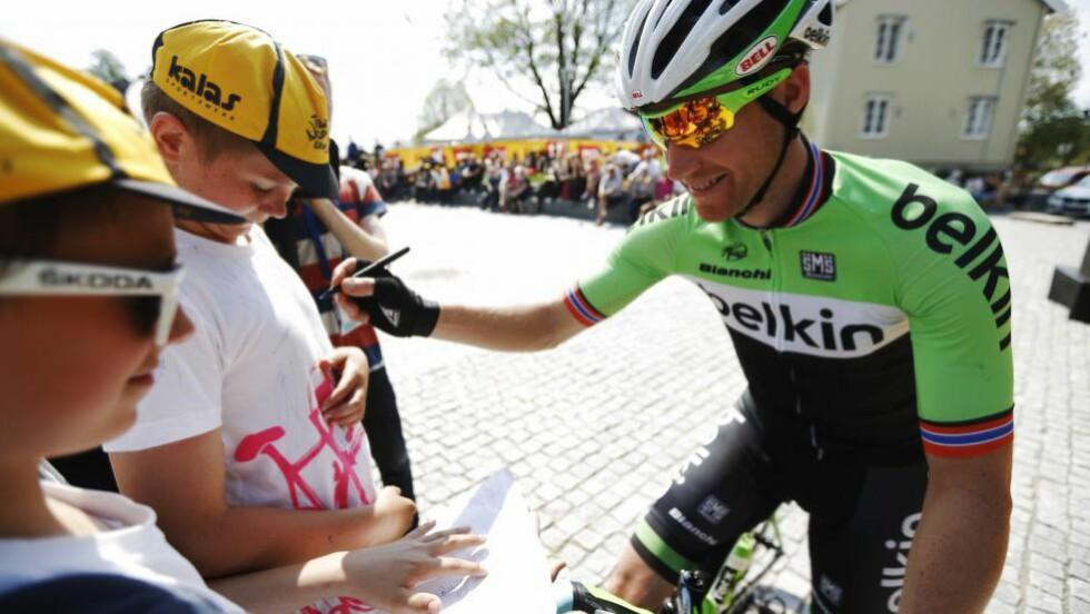 TIL SPANIA: Lars Petter Nordhaug får et tøft rittprogram som inkluderer Vuelta a España denne høsten. Foto: Kristoffer Øverli Andersen, www.procycling.no
