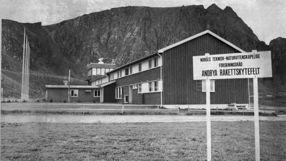 SKIFTER NAVN: 52-åringen Andøya rakettskytefelt bytter nå navn til Andøya Space Center. Arkivfoto: NTB / Scanpix