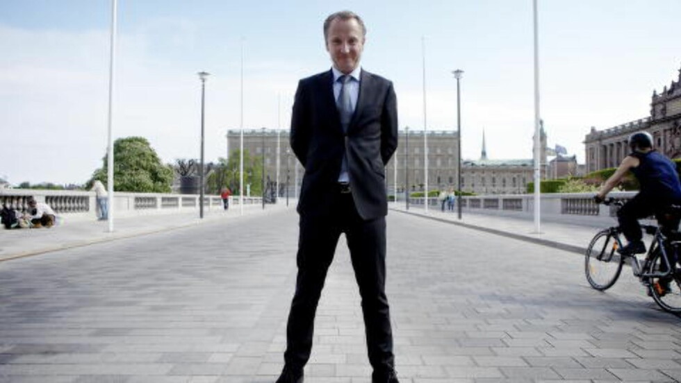 HOFFEKSPERT: Johan T. Lindwall er hoffekspert i den svenske avisen Expressen, noe han har vært siden 2007. Han har også skrevet biografiene om de svenske kongebarna Victoria, Madeleine og Carl Philip.
