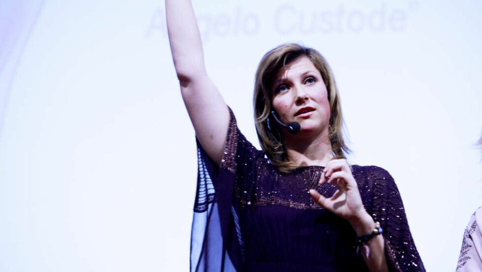 PÅ ENGLEKONFERANSE: Martha Louise på englekonferanse i Torino. Foto: Siv Johanne Seglem / Dagbladet