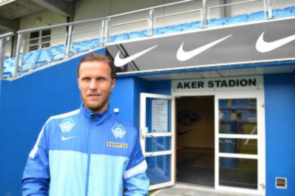 VIKTIG: Moldenseren Daniel Berg Hestad er fortsatt en nøkkelspiller i Molde. Nå blir det kanskje ny sesong. Foto: Håvard Røyrvik / Dagbladet
