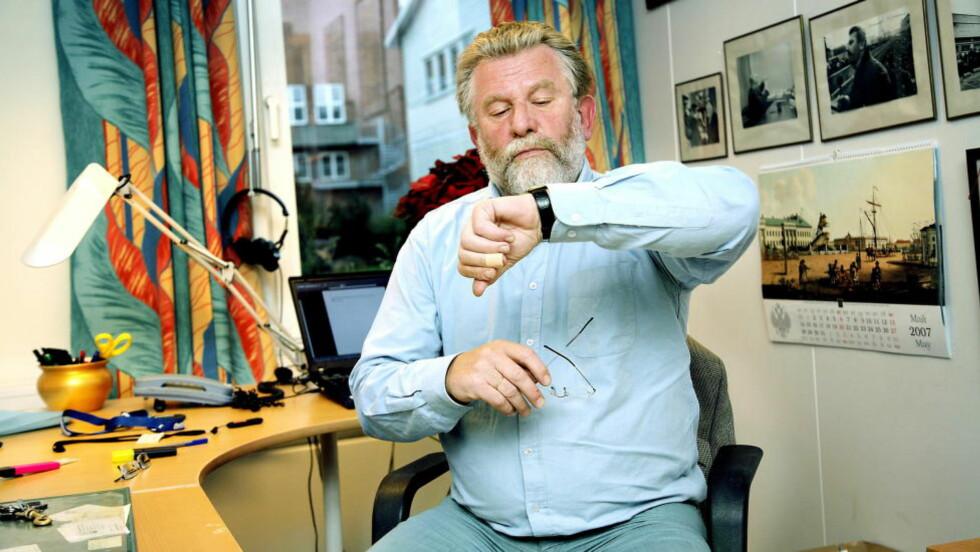 TIDEN ER INNE: NRK-veteran Hans-Wilhelm Steinfeld bytter beite - og går til PR-bransjen. Foto: Jacques Hvistendahl/Dagbladet