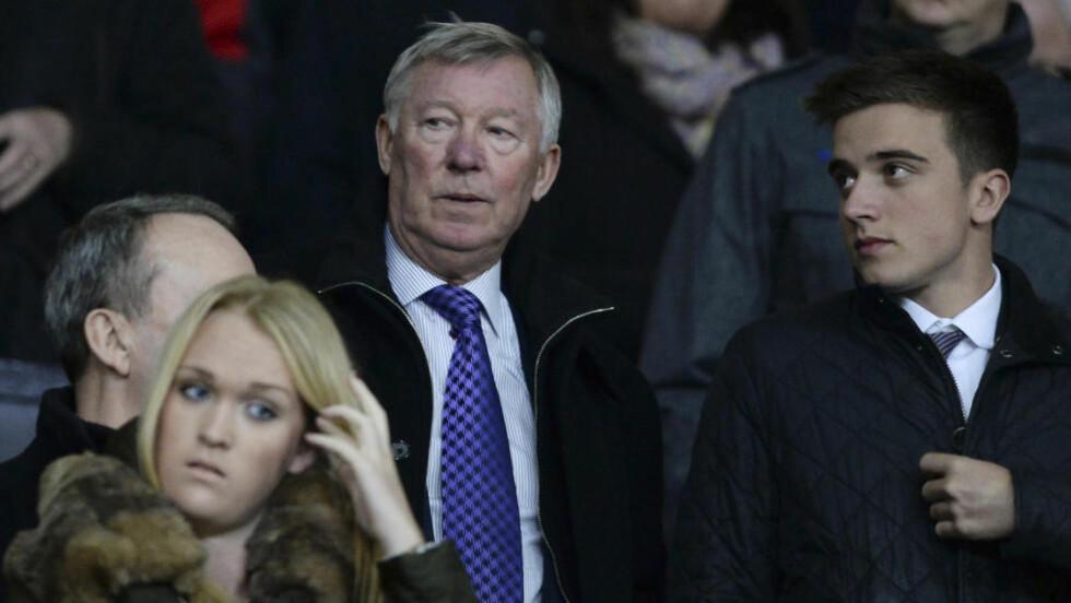 HYLLER:  Tidligere Manchester United-trener Sir Alex Ferguson. Foto: NTB Scanpix