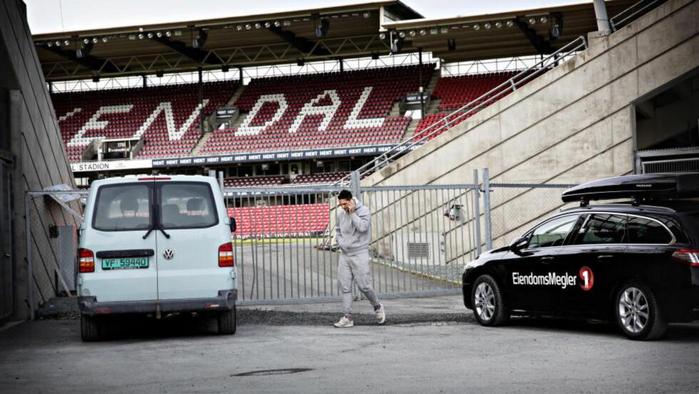 STENGT UTE:  Nicki Bille Nielsen ble utestengt fra RBK-treninger i flere dager. Foto: Lars Eivind Bones / Dagbladet