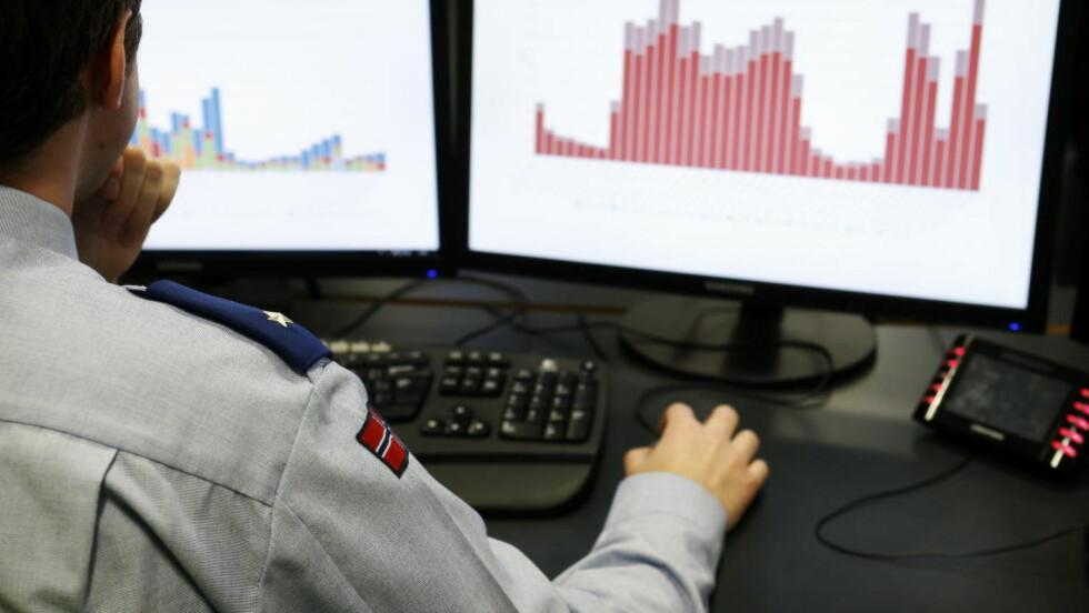 ANGREP: Norske finansinstitusjoner ble utsatt for et massivt dataangrep. Foto: Erlend Aas / NTB scanpix