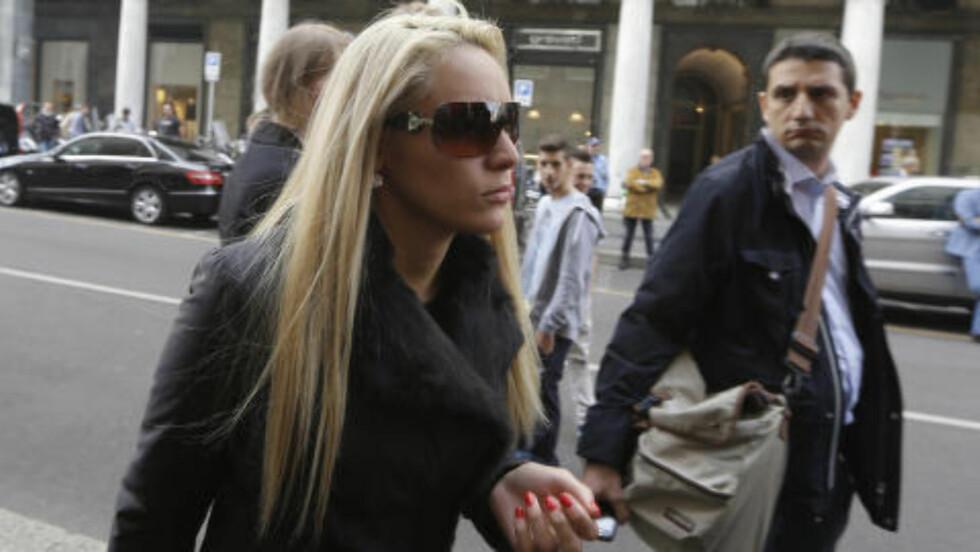 EKS:  Maradonas tidligere kjæreste Rocio Oliva. FOto: NTB Scanpix