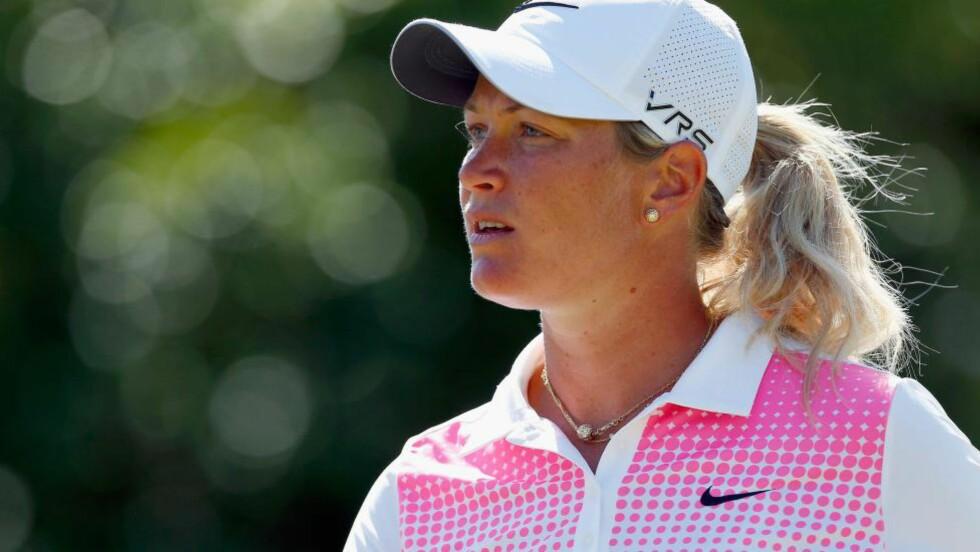 IMPONERT:  Suzann Pettersen er imponert over rivalen Michelle Wie. Foto: NTB Scanpix