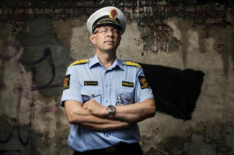 BLE NEKTET HENLEGGELSESDIREKTIV: POlitimester Bjørn Vandvik i Romerike Politidistrikt. Foto: Benjamin A. Ward / Dagbladet