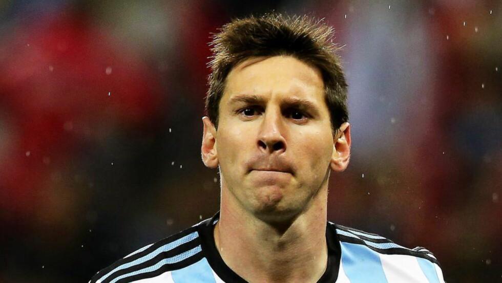 ÉN KAMP: Lionel Messi er én kamp unna å bli tidenes spiller, mener Morten P. Foto: EPA/SEBASTIAO MOREIRA / NTB Scanpix