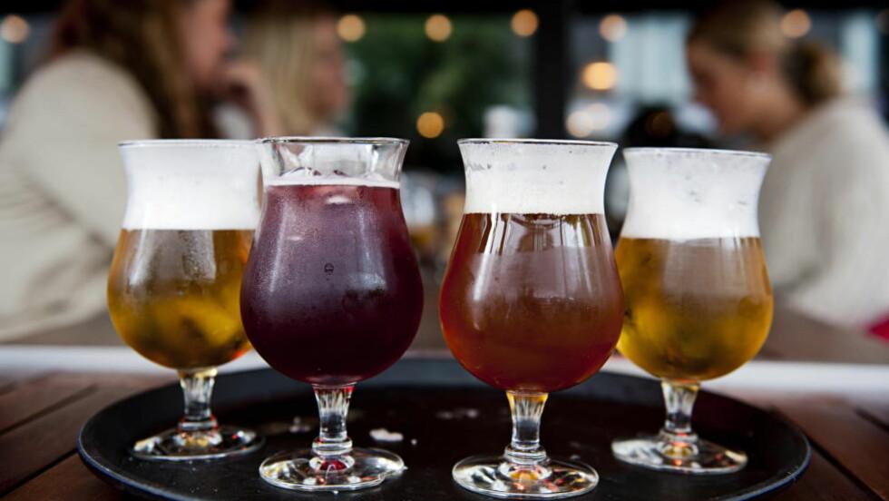 LEMPER PÅ REGLER: Regjeringen vil lempe på reglene for alkoholreklame. Foto: BENJAMIN A. WARD / DAGBLADET