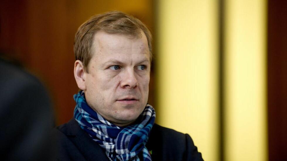 - KAN IKKE BLI STRENGERE: Heikki Holmås (SV) mener Norges asylpolitikk i dag er så streng, at det ikke går an å stramme til uten å bryte menneskrettigehter og folkerett. Foto: Øistein Norum Monsen / Dagbladet