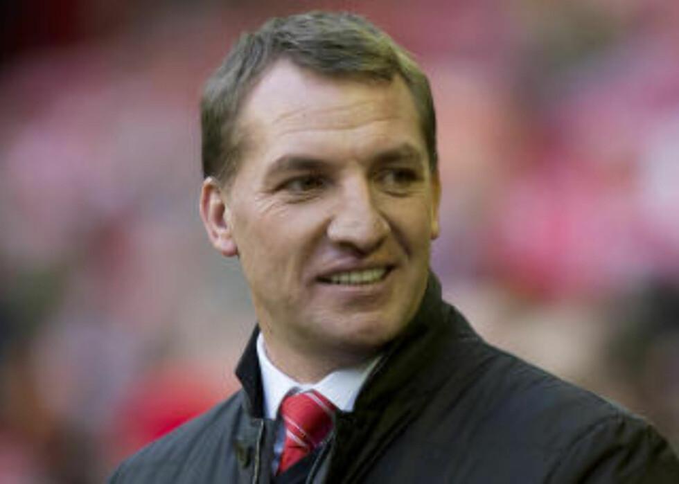 SJEFEN: Liverpool-manager Brendan Rodgers er mannen som må stake ut kursen uten Suárez. AP Photo/Jon Super,
