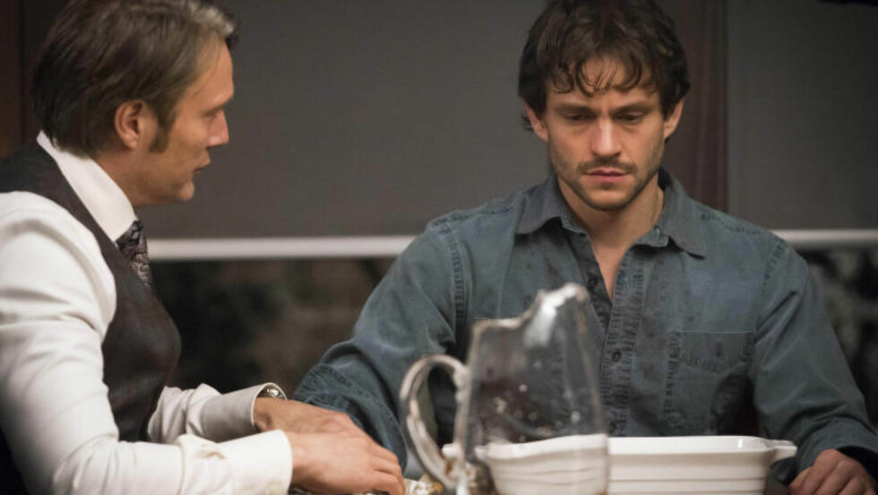 HAR ASPERGERS-TREKK: Will Graham (Hugh Dancy, t.h.) i «Hannibal». Foto: Stella Pictures