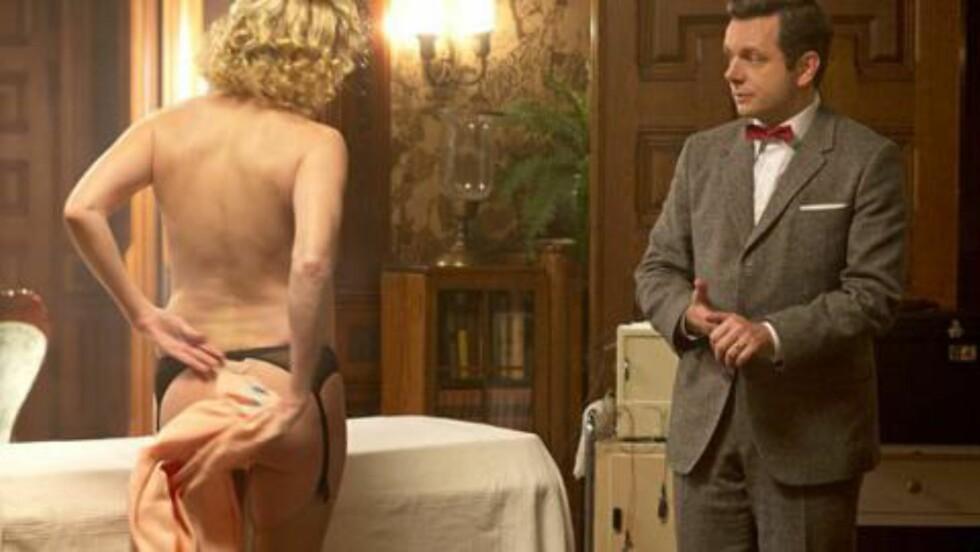 UNDERSPILT: Michael Sheens subtilt spilte figur i «Masters of Sex» fortjener en Emmy-nominasjon, slår Filter-redaksjonen fast. Foto: Sony Pictures Television/Showtime