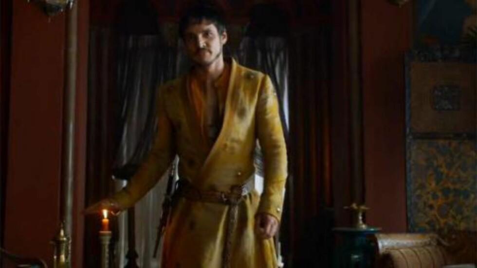 ENDRER LEGNING: Pedro Pascal er så sexy at han får heterofile menn etter seg, men ikke Emmy-juryen. Foto: HBO