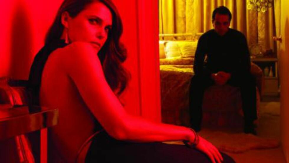 PARANOIA: Hvorfor er ikke «The Americans» nominert for beste dramaserie? Serien er nesten helt oversett av akademiet. Foto: FX