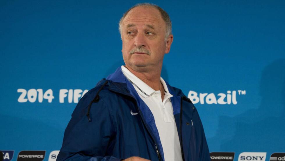 BRASIL-TRENER:  Luiz Felipe Scolari. FOTO: NTB SCANPIX