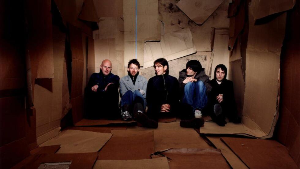 SAMMEN IGJEN: Tre år har gått siden Radiohead ga ut sitt forrige album. Nå planlegger de å spille inn sitt niende studioalbum. Foto: Dagbladet