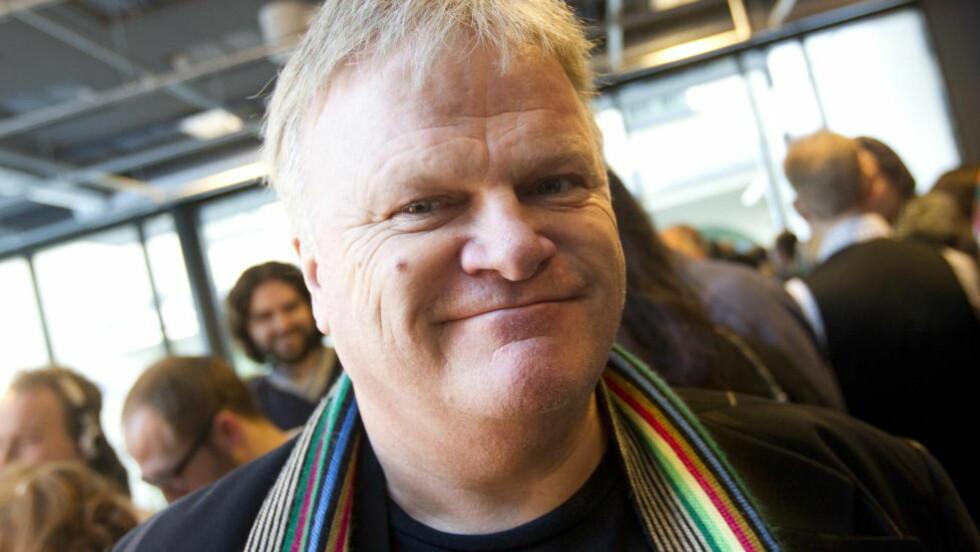 IKKE ET PROBLEM:  William Kristoffersen mener ikke det er et problem at enkelte kommer på konsert bare for å danse og drikke vann.  Foto: Morten Holm / Scanpix