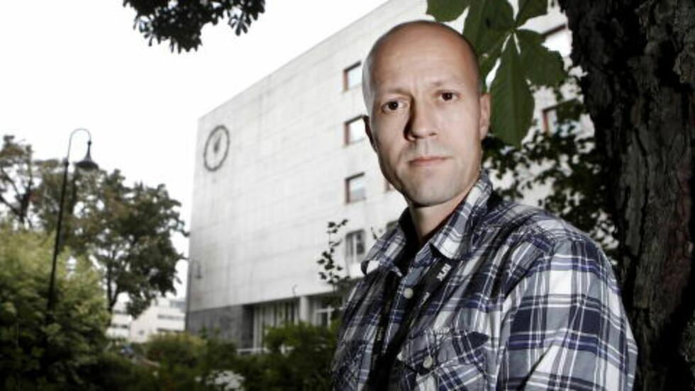 ENSIDIG KRITIKK:: Nyhetsdirektør Per Arne Kalbakk mener NRK i det lange løp har en balansert OL-dekning. Foto: ERLING HÆGELAND/Dagbladet