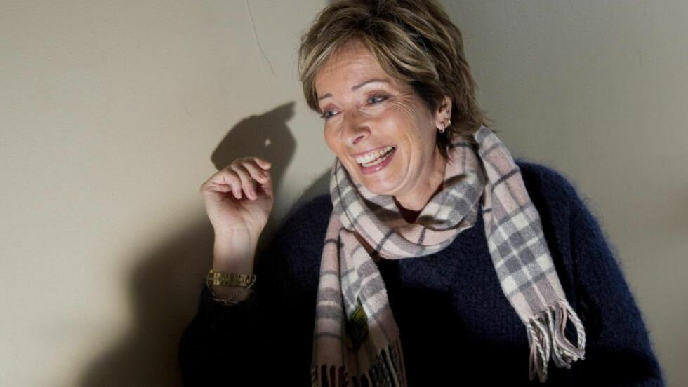 RETT INN PÅ TOPP: Det er solgt 19.000 eksemplarer av Hanne Kristin Rohdes bok «Mørke hjerter». Det gir henne en plass på krimtoppen. Foto: Torbjørn Berg / Dagbladet