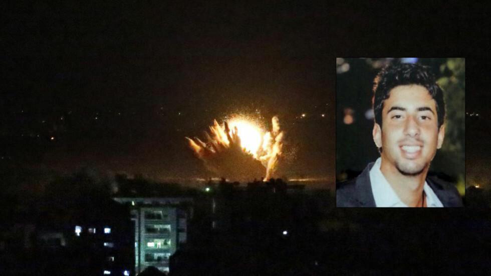 DREPT: Den israelske soldaten Eitan Barak (20) ble trolig drept av sine egne under bakkeoffensiven i Gaza natt til fredag. Foto: AFP/THOMAS COEX/IDF