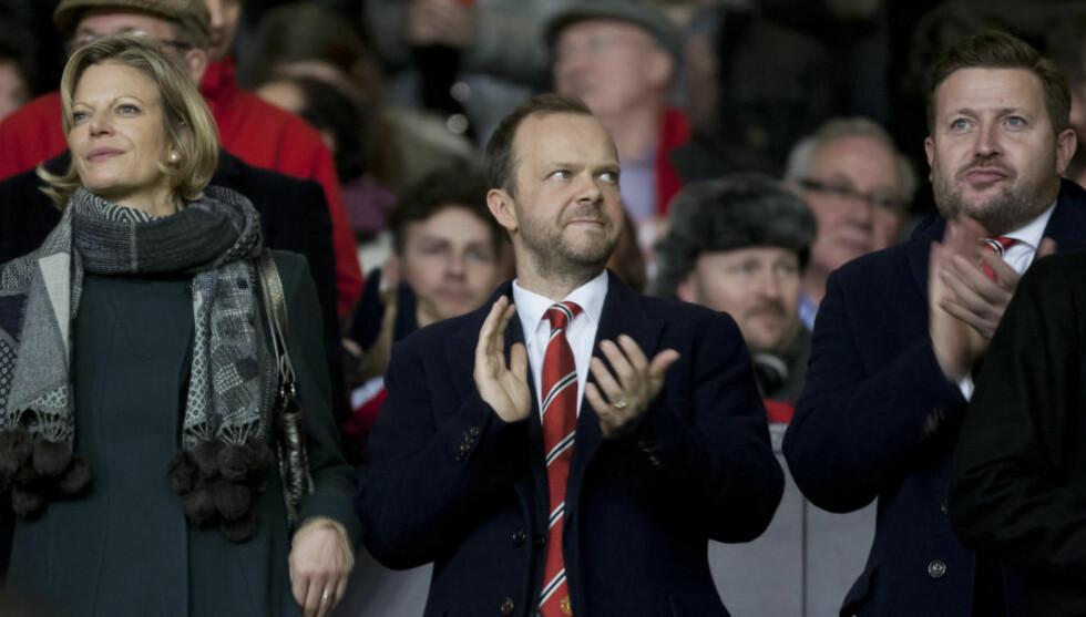 GLADMELDING: Manchester United-direktør Ed Woodward har kommet med en fersk gladmelding til fansen. Foto: Jon Super, AP/NTC Scanpix