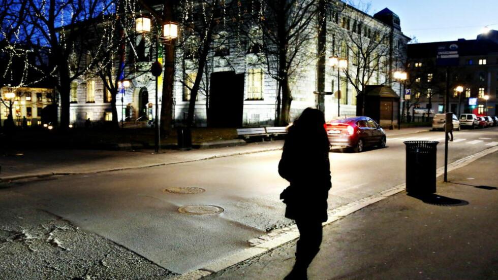 PROSTITUSJON:   Kvinner og menn fra minst 53 forskjellige land solgte seksuelle tjenester i fjor. Foto: Jacques Hvistendal / Dagbladet