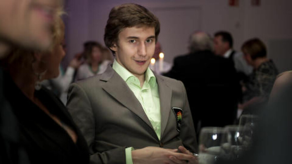 RUSSER: Sjakkstjernen Sergej Karjakin er tidligere ukrainer, men fikk russisk statsborgerskap i 2009. Foto: Carina Johansen / NTB scanpix