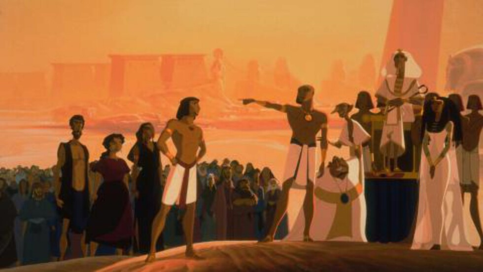 TREFFER BEDRE: Tegnefilmen «Prinsen av Egypt» fra 1998 unngår å gi figurene et europeisk utseende. Foto: Scanpix / HO-Photo / DreamWorks Pictures