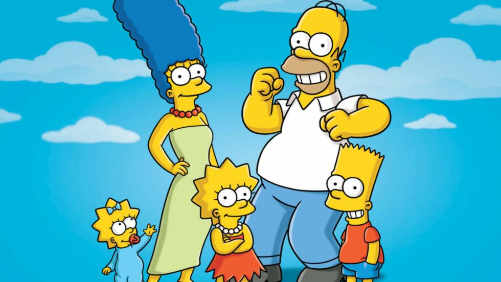 26 SESONG:  TV- serien «Simpsons» sparkes i gang igjen i september. Det er den lengst sendte animerte TV-serien i verdenshistorien. Foto: NTB Scanpix