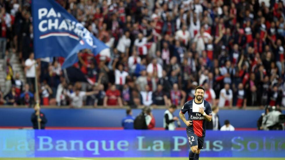 STENGER TRIBUNE: PSG må spille den neste kampen i Europa med deler av stadion uten tilskuere. Foto: AFP PHOTO / FRANCK FIFE