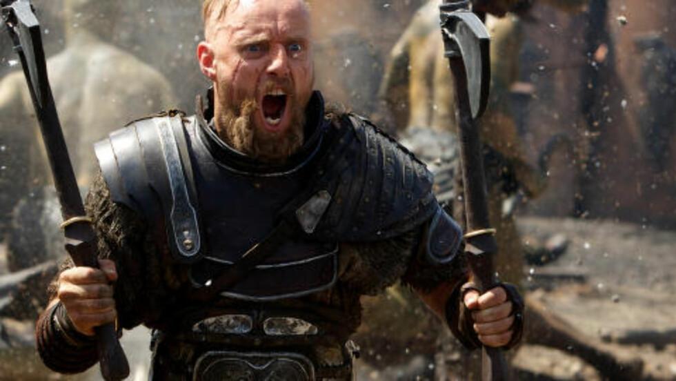 KUL ROLLE: Aksel Hennie spiller Tydeus i storfilmen. Foto: Paramount Pictures