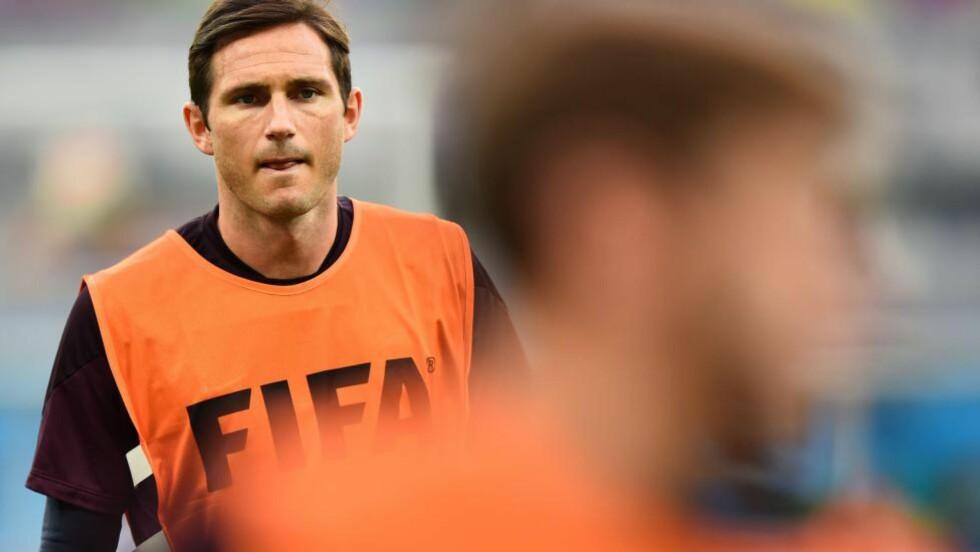 TIL USA: Frank Lampard, som tidligere i sommer forlot Chelsea etter 13 sesonger, er klar for nyoppstartede New York City FC. Foto: AFP PHOTO / RONALDO SCHEMIDT