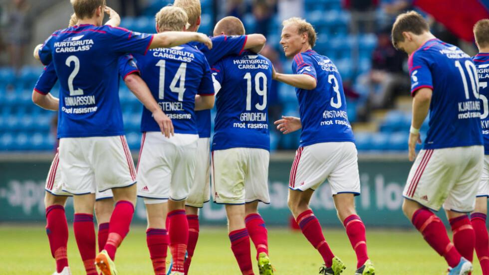 FORHANDLER OM AVTALE: Vålerenga forhandler om en kjempeavtale med DNB, melder TV2. Foto: Vegard Grøtt / NTB scanpix