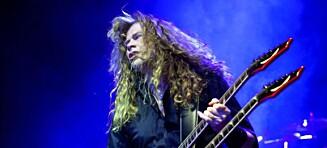 Megadeth nektet å spille hvis festivalen serverte laks